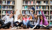 ┬® Andresr _ Dreamstime.com - Happy Group Of Students Photo