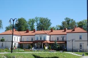 Widok na Rektorat PWSTE w Jarosławiu